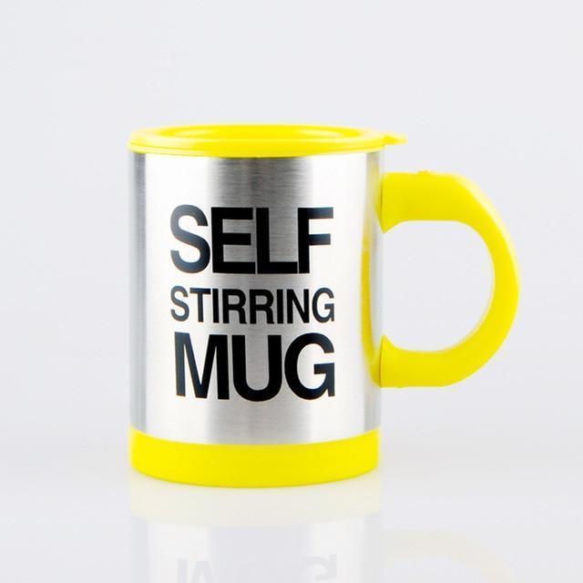 Self-Stirring Coffee Mug