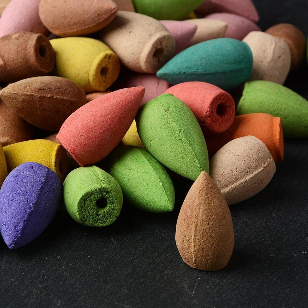 Mesmerizing Backflow Incense Cones (100 Assorted Pieces)