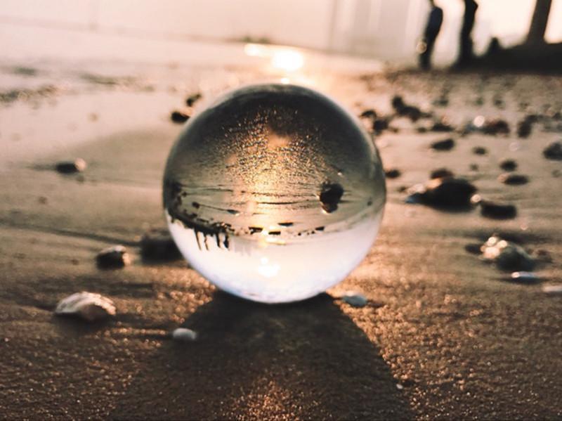 Crystal Ball Lens Photography Sphere