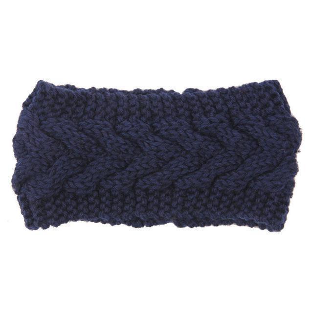 Knitted Ear Warmer Headwrap