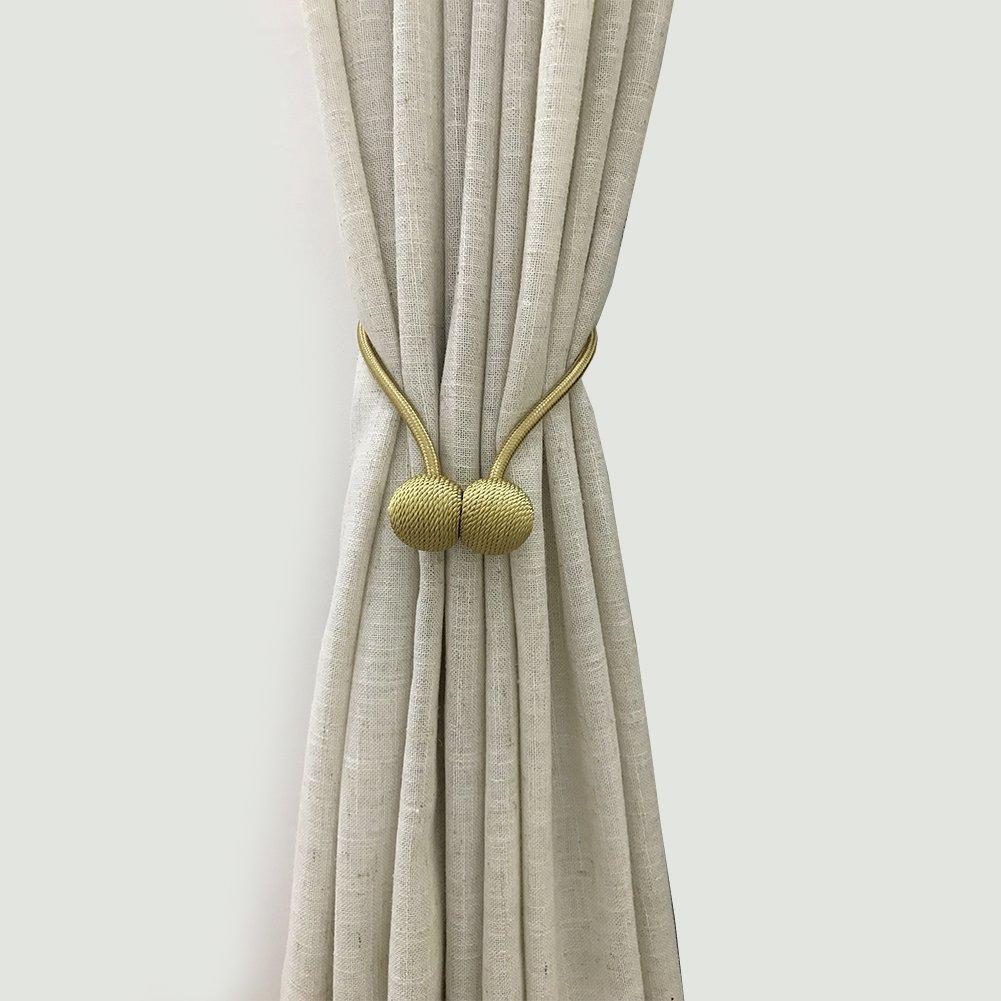 Magnetic Curtain Tieback Set