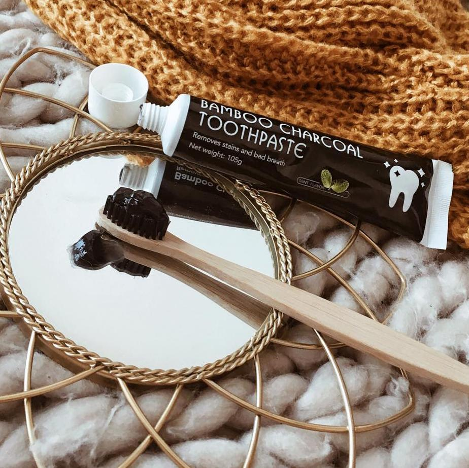 Bamboo Charcoal Toothpaste For Teeth Whitening