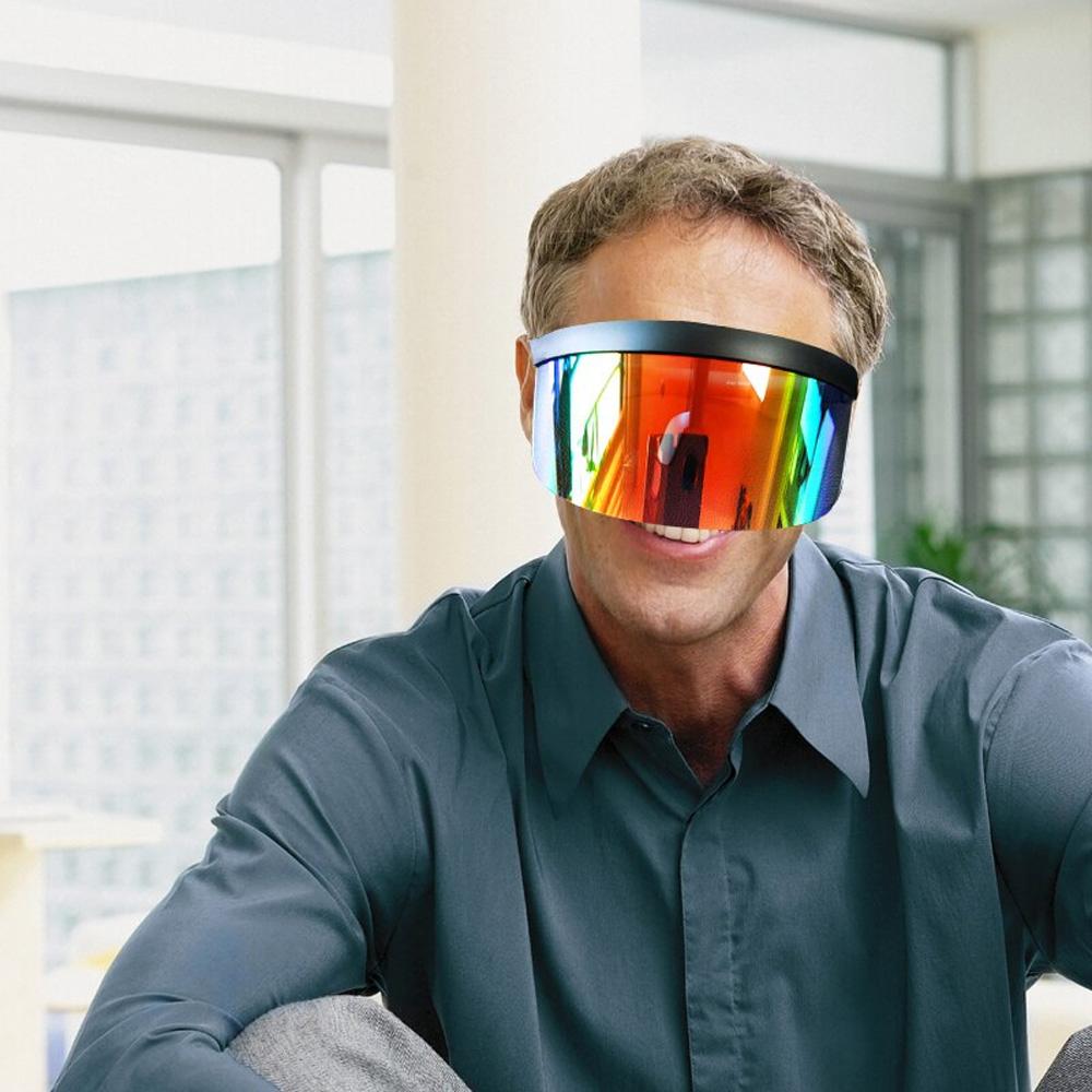 Futuristic Shield Visor Sunglasses