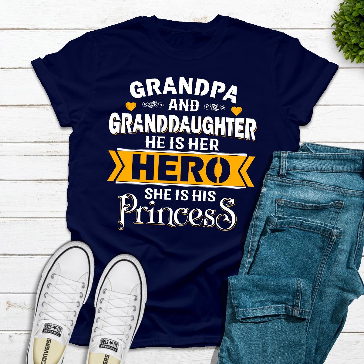 Grandpa & Granddaughter (Navy / Xl)