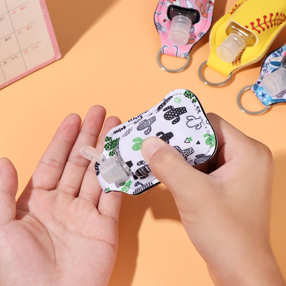 Hand Sanitizer Holder Keychain