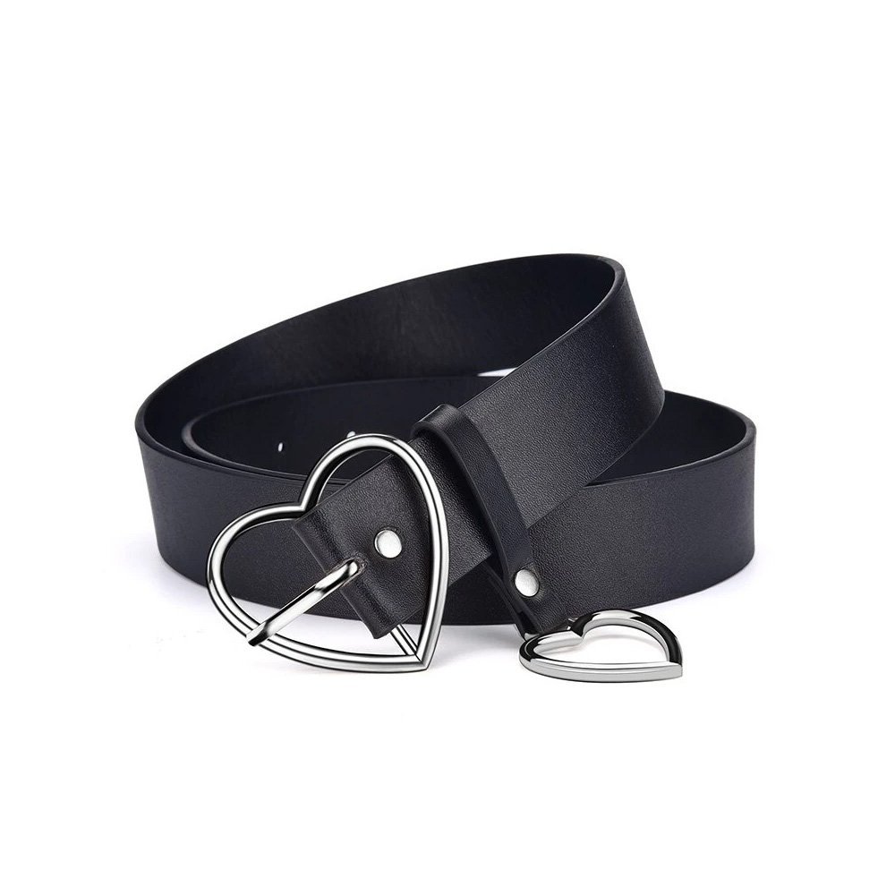 Heart Buckle Belt For Jeans, Shorts & Overcoats