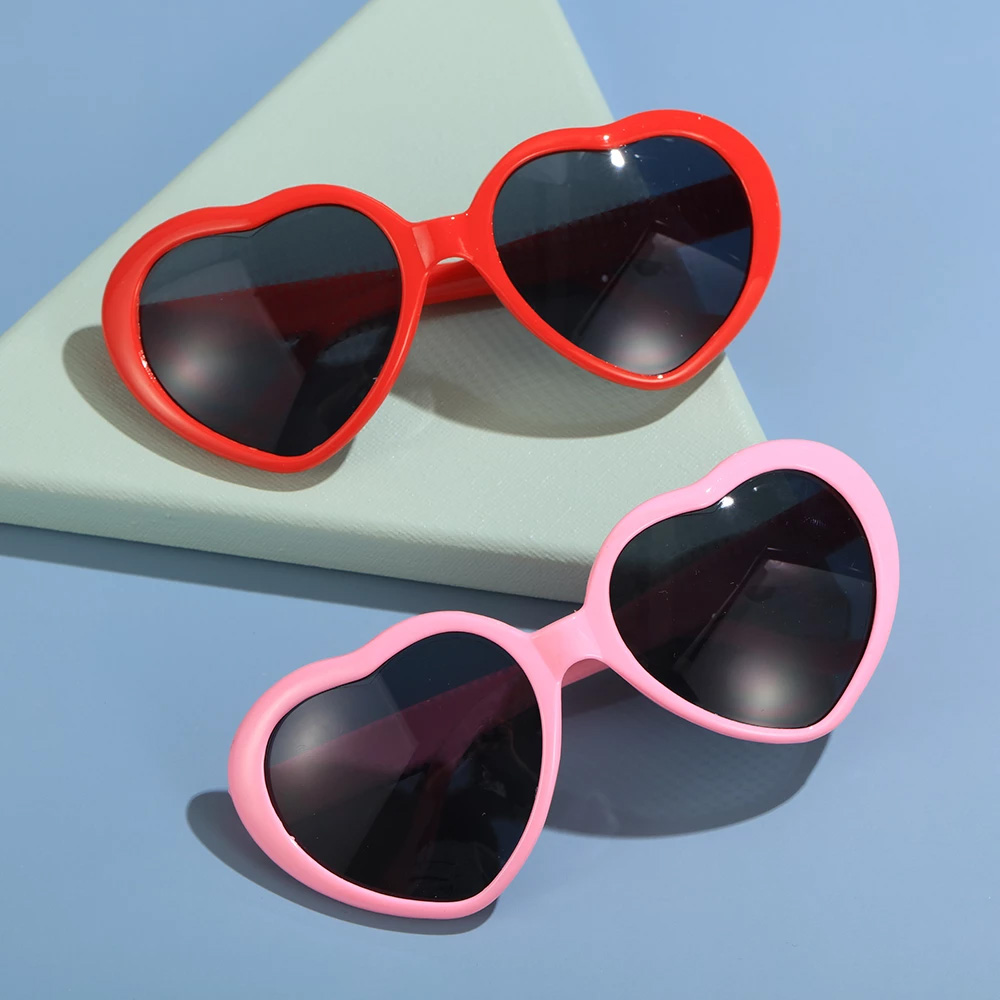 Heart Shaped Heart Effect Diffraction Glasses