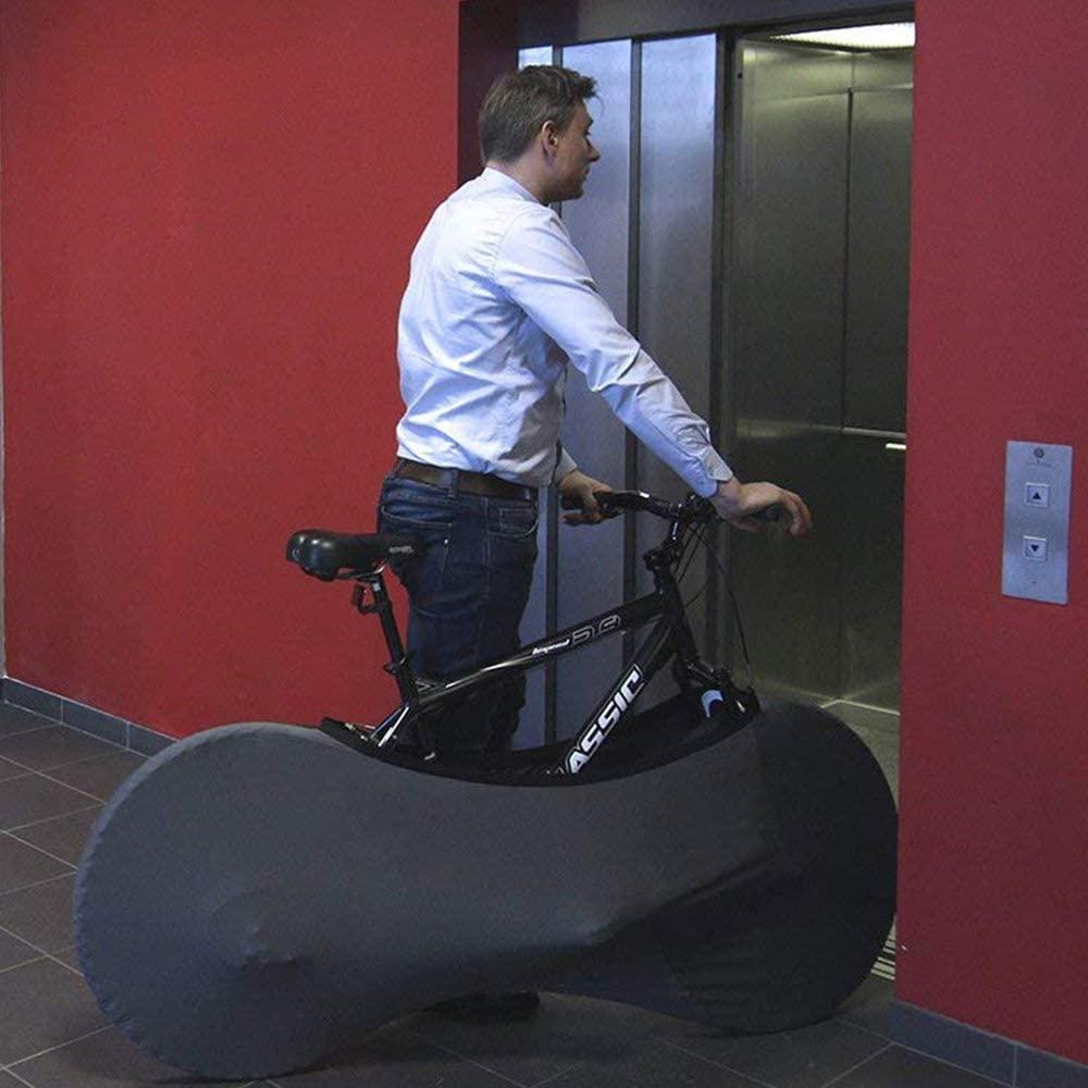 Hippierider Indoor Bike Wheel Cover