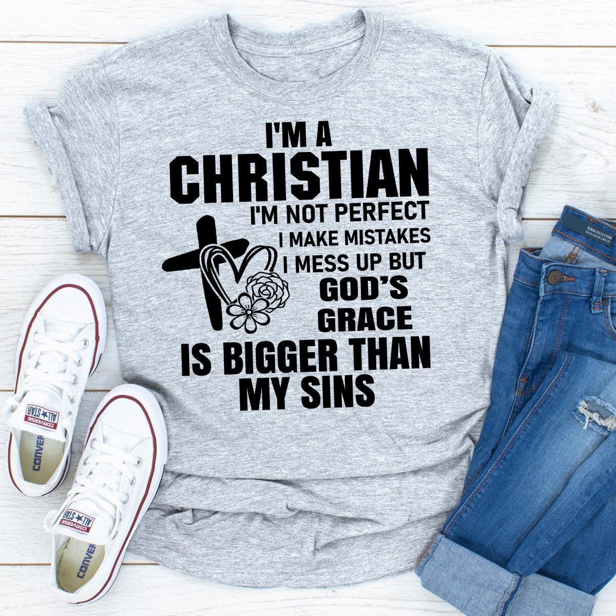 I'm A Christian (Sport Grey / 2Xl)