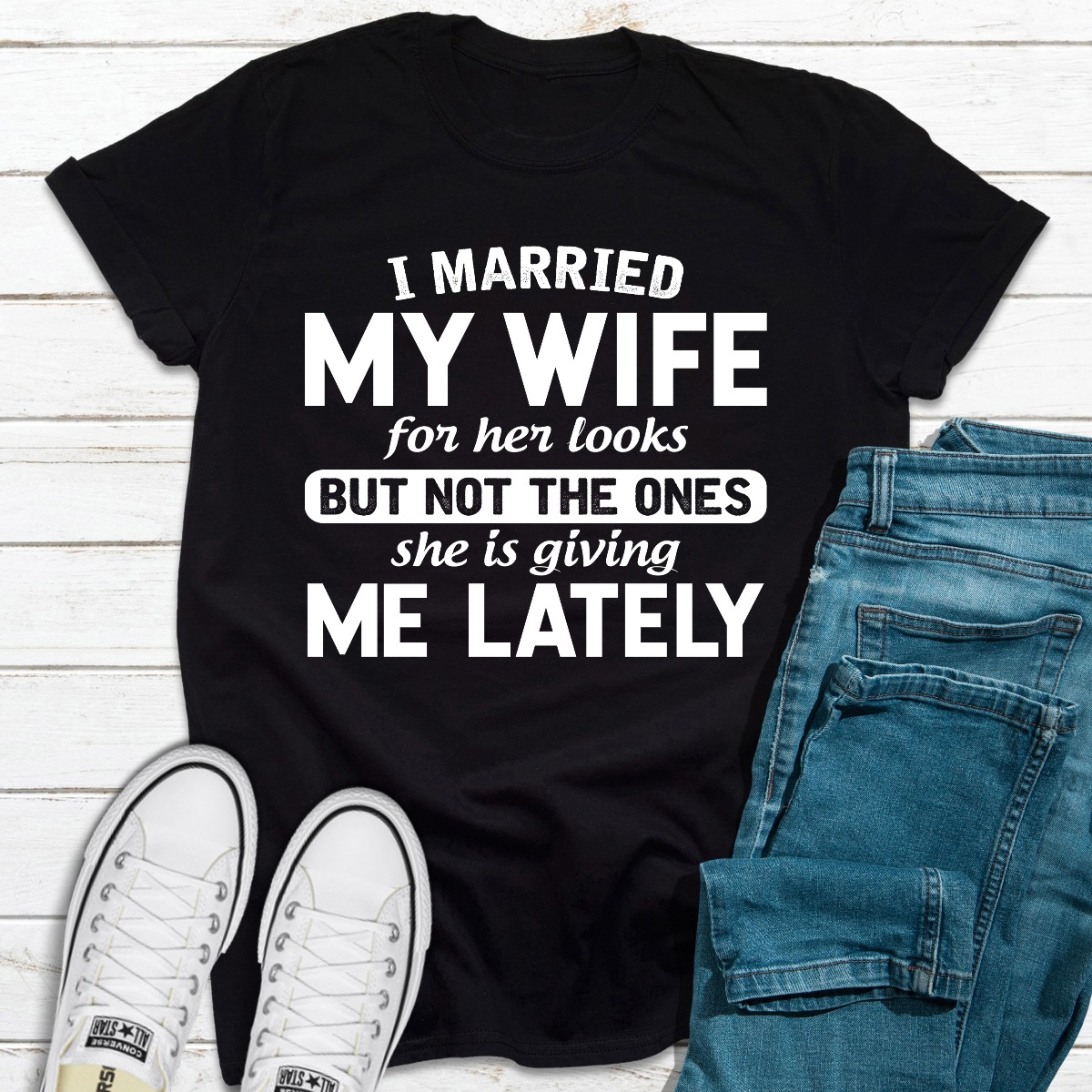 I Married My Wife For Her Looks