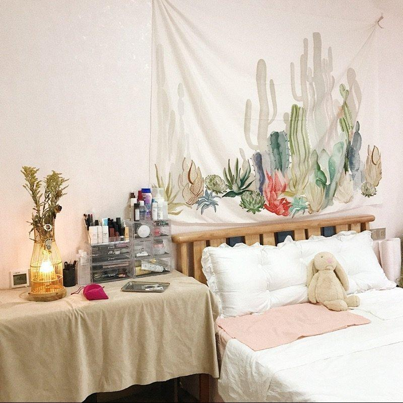 Boho Cacti Tapestry