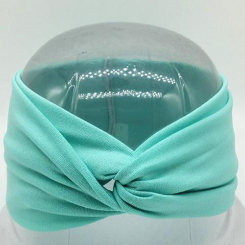 Boho Twist Headbands-Teal