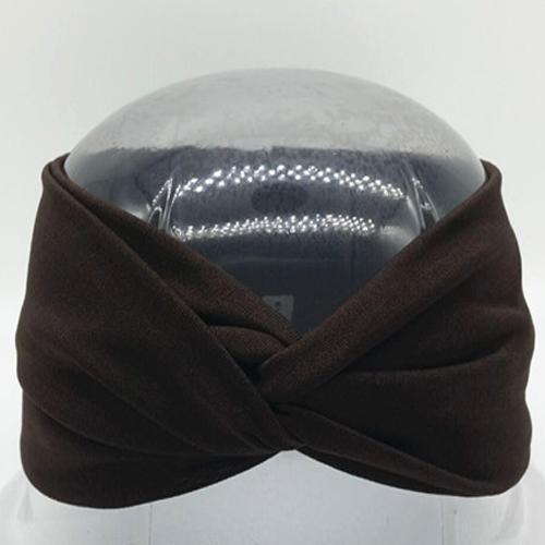 Boho Twist Headbands-Brown