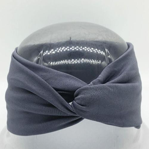 Boho Twist Headbands-Gray