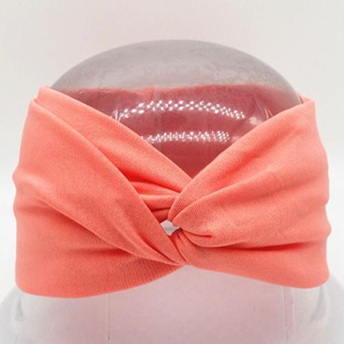 Boho Twist Headbands-Peach