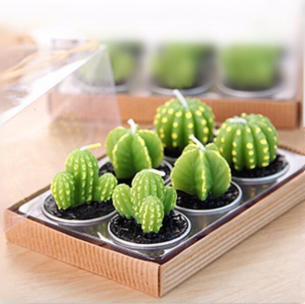 Mini Cactus Candles