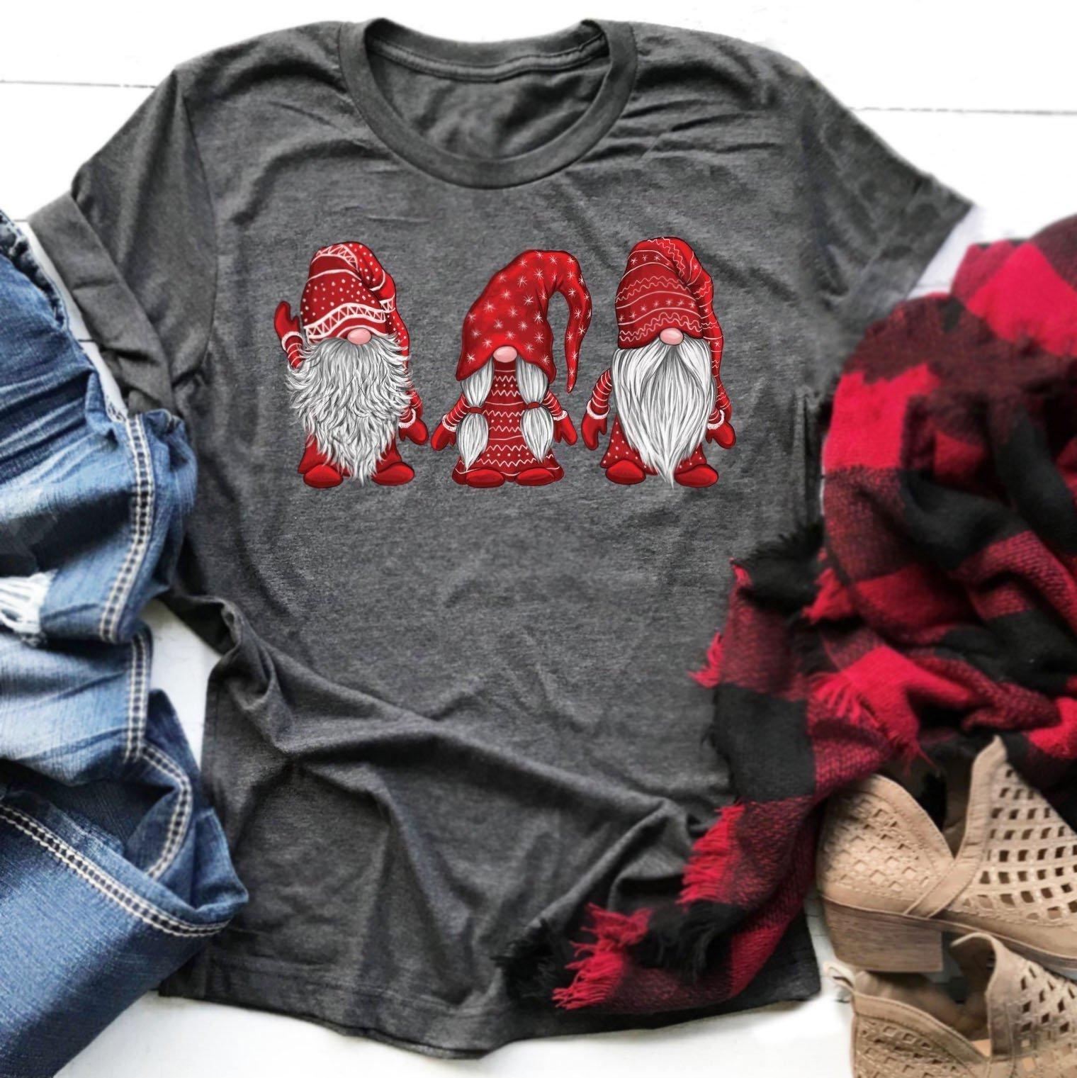 Christmas Gnomes T-Shirt
