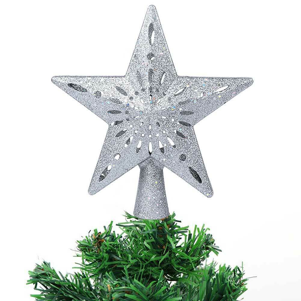 Christmas Tree Topper Projector-Silver