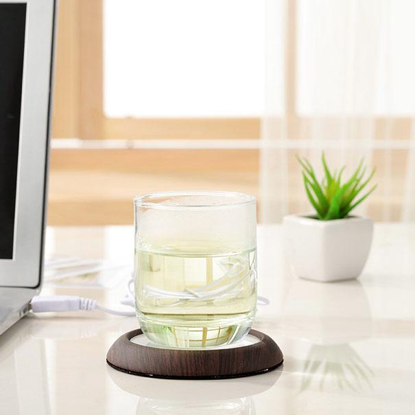 USB Wooden Drink Warmer