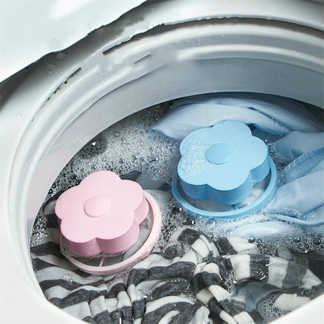 Daisy Laundry Hair Catcher / Washing Machine Lint Catcher