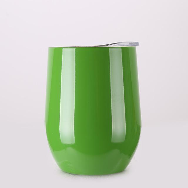 Portable Insulated Wine Cup-Green