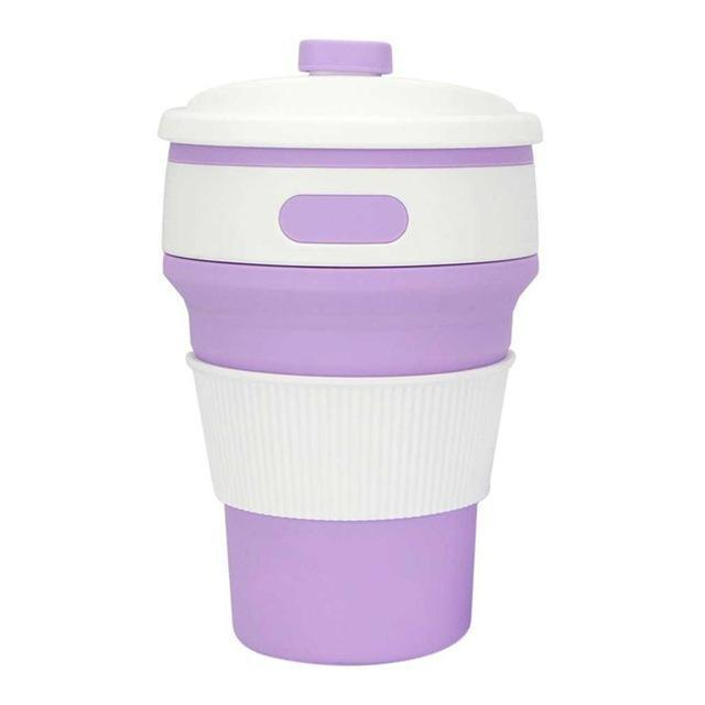 Eco Collapsible/Foldable Coffee Cup-Lilac