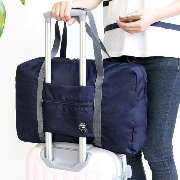 Foldable Weekender Bag-Navy