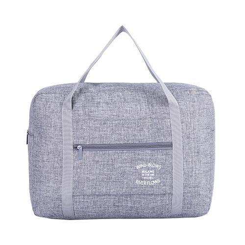 Foldable Weekender Bag-Gray