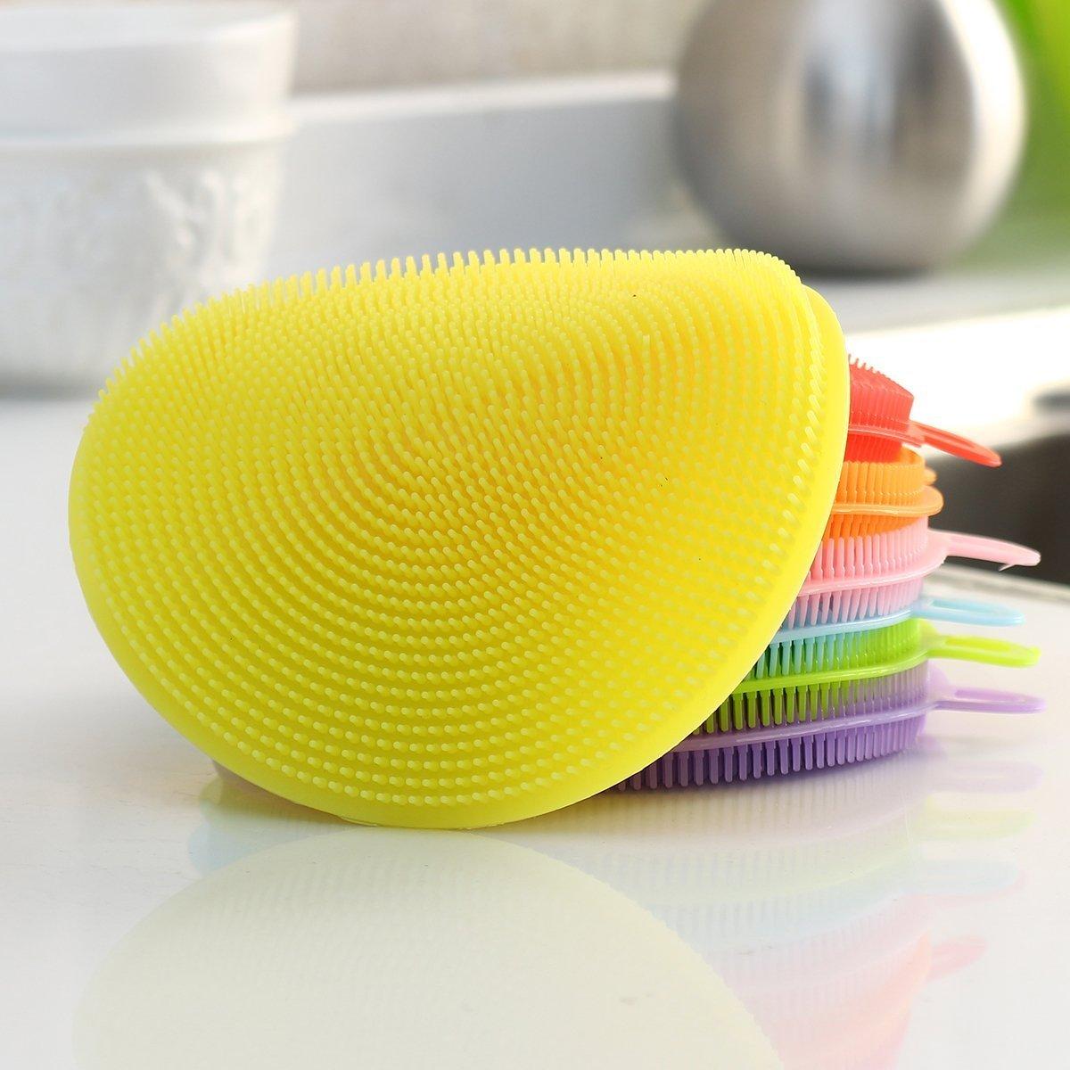 Multipurpose Anti-Bacterial Sponge-Yellow
