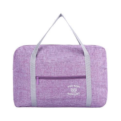 Foldable Weekender Bag-Purple