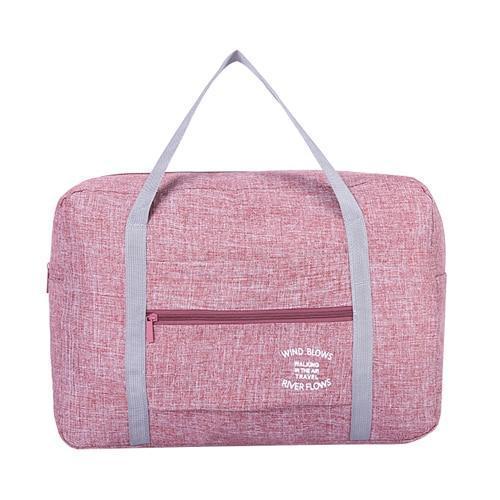 Foldable Weekender Bag-Red