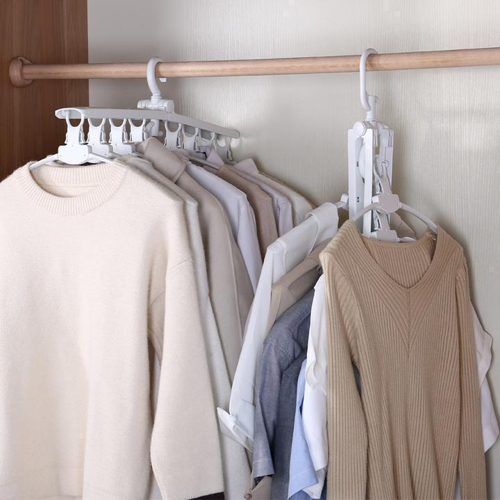 Smart Collapsible & Folding Clothes Hanger
