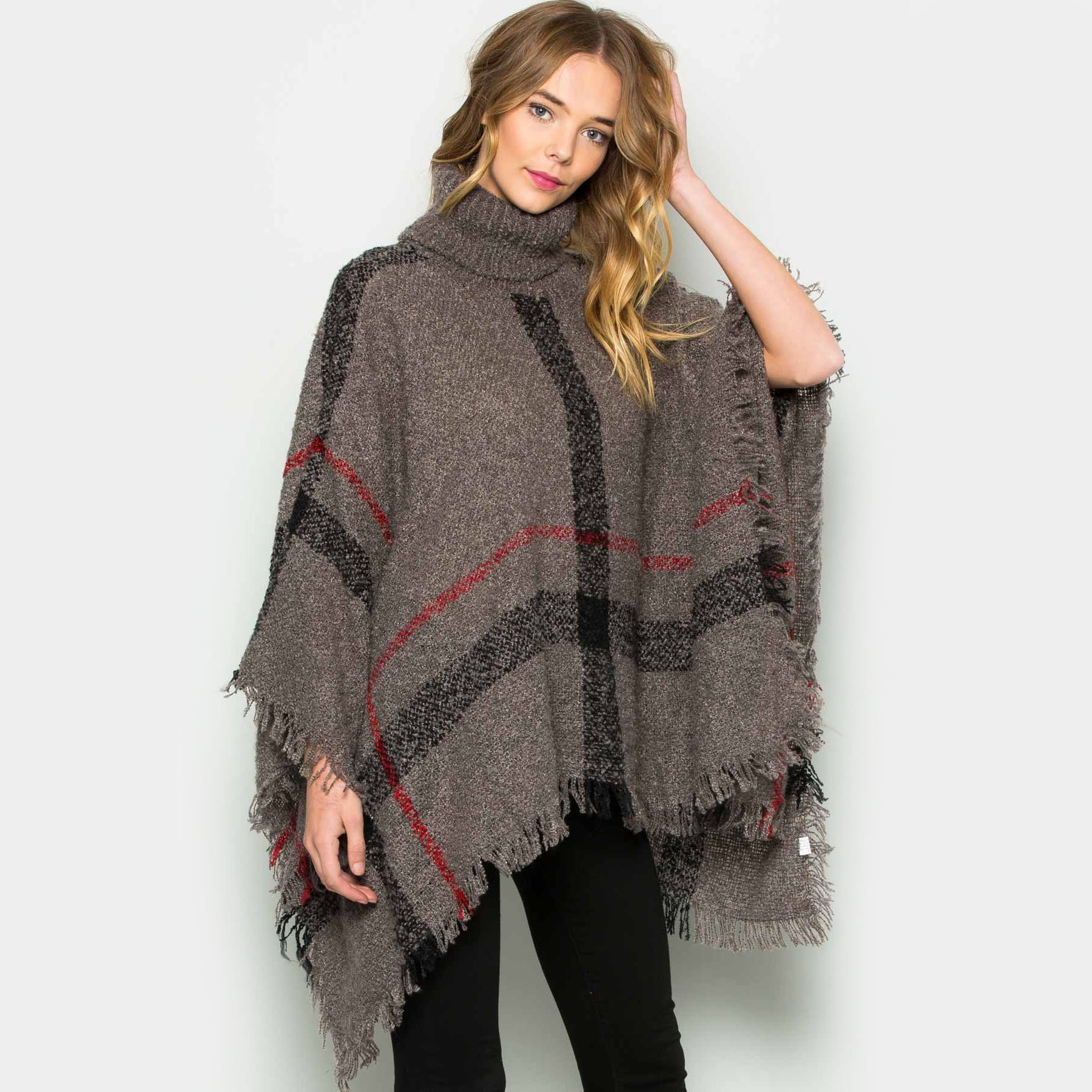 Cozy Poncho Sweater