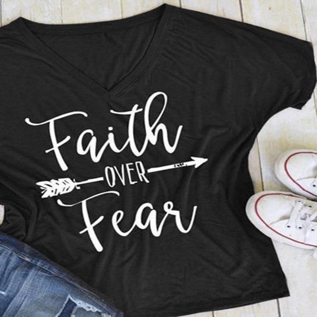 """""""Faith Over Fear"""" T-Shirt"""