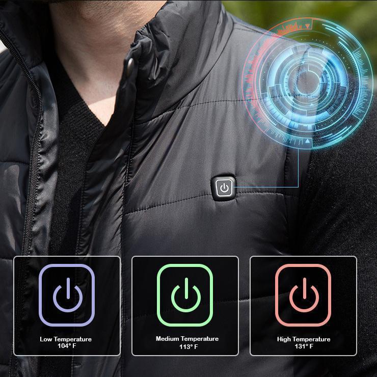 tech heated vest