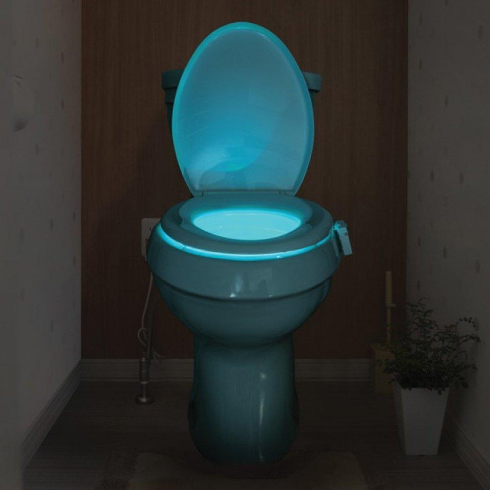 Toilet Seat Light Glow