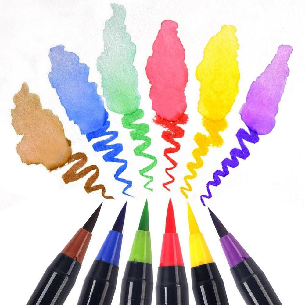 Watercolor Markers