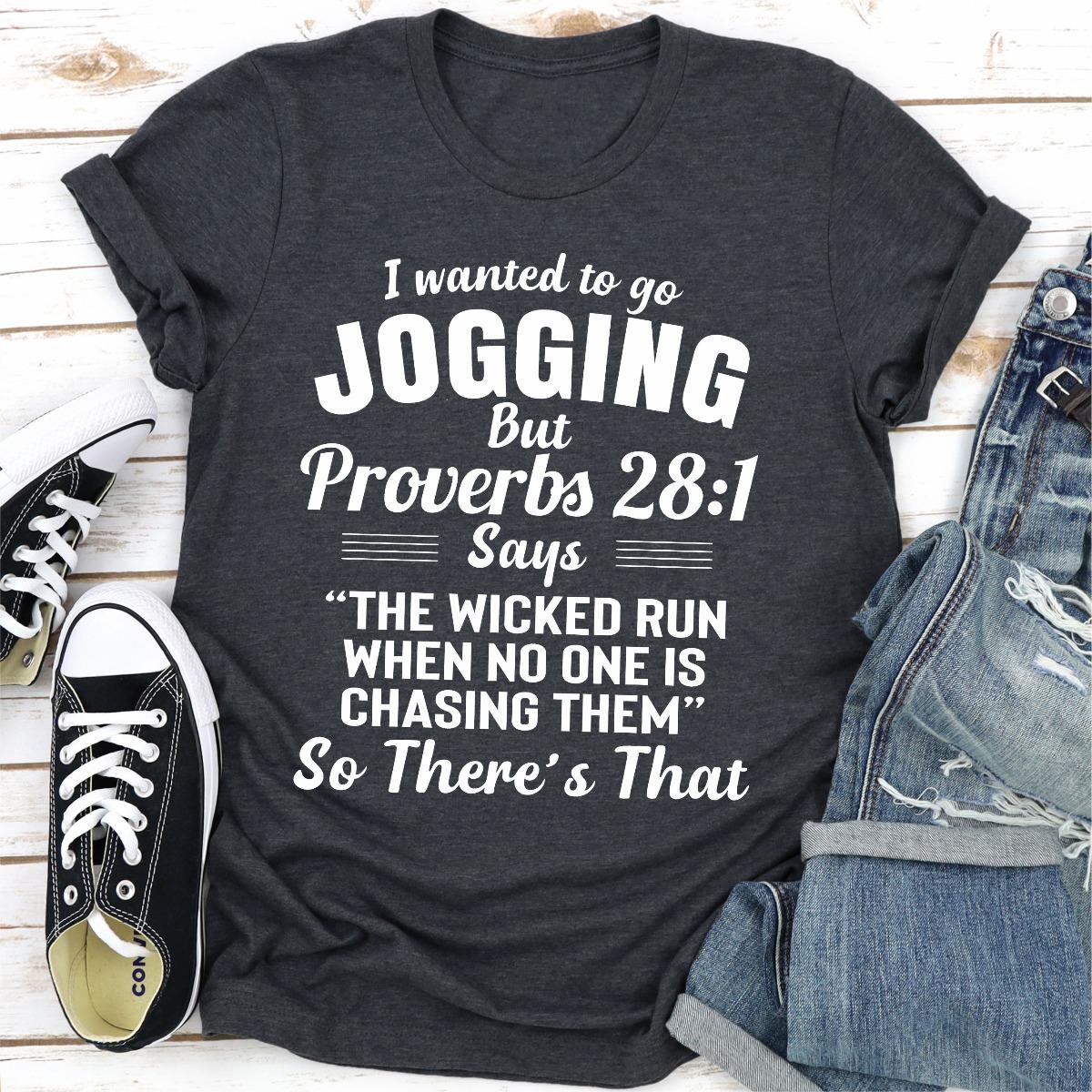 I Wanted To Go Jogging (Dark Heather / Xl)