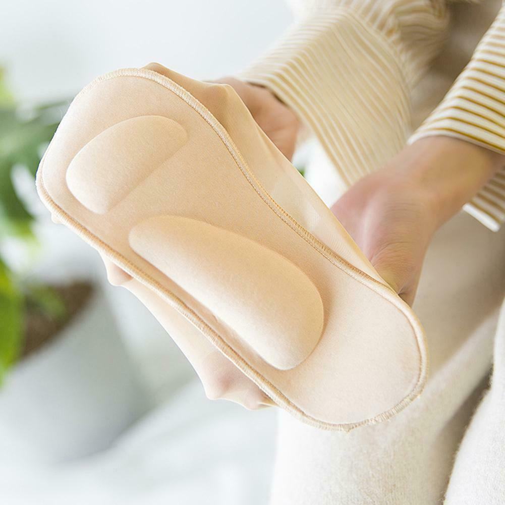 No-Show Arch Support Socks For Plantar Fasciitis & Heel Pain