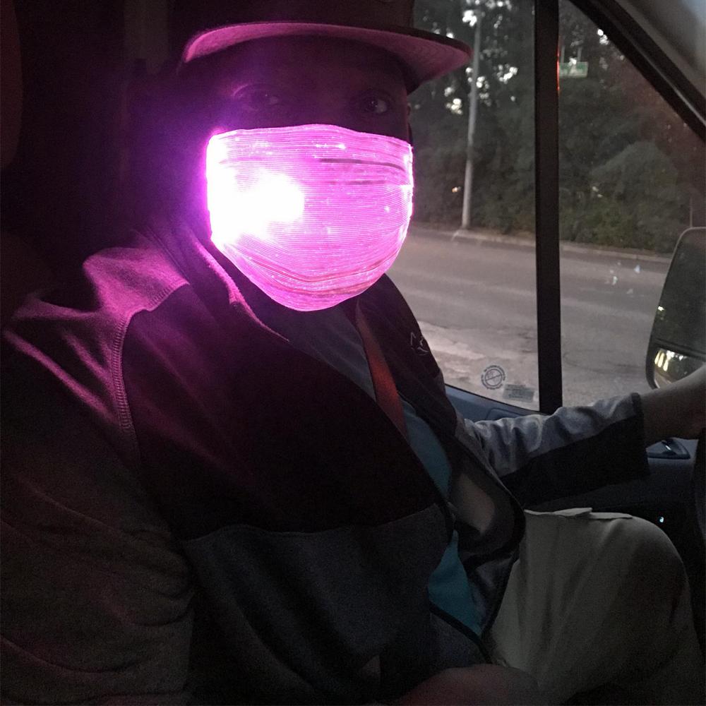LED Multi-Color Changing Face Mask