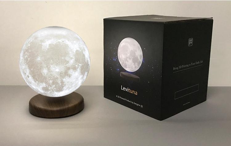Magnetic Levitating Moon Lamp