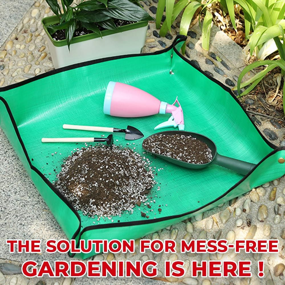 Mess-Free Foldable Gardening Mat