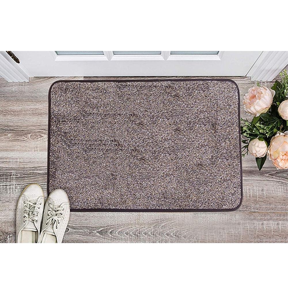 Non-Slip Magic Indoor Super Absorbent Doormat-Brown Upgrade-1.5'X2.25'
