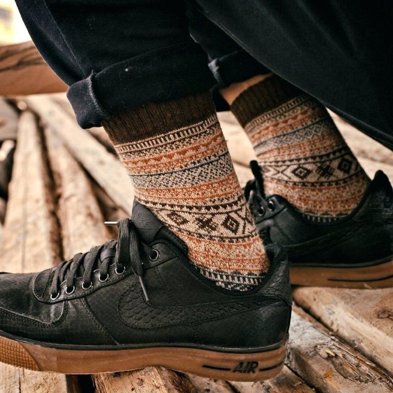 Wool Nordic Socks