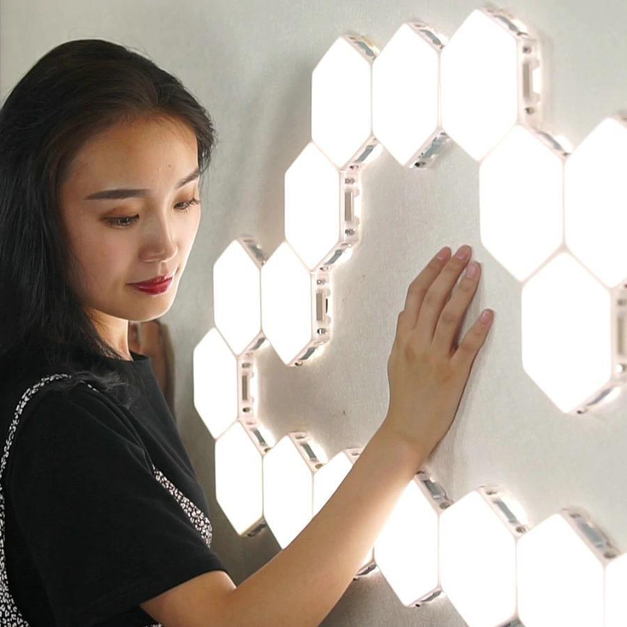Hexagon Modular Touch Lights