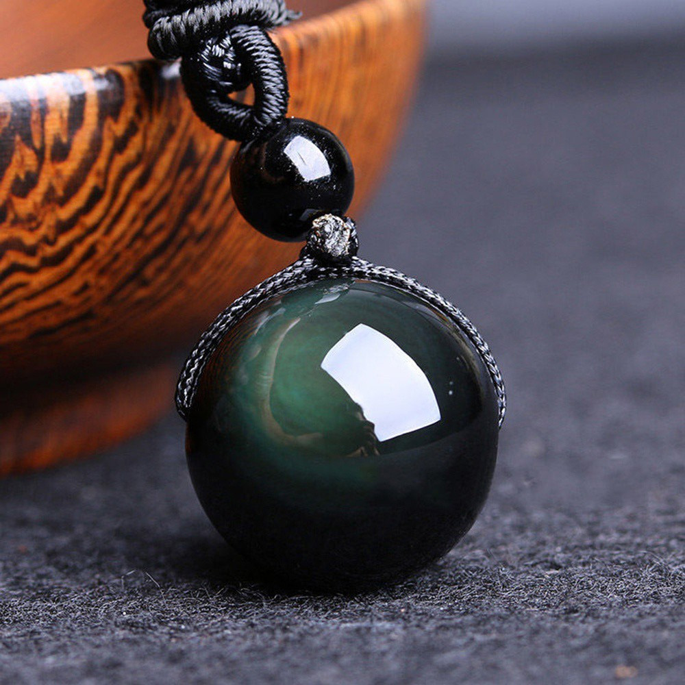 Obsidian Necklace Crystal For Women