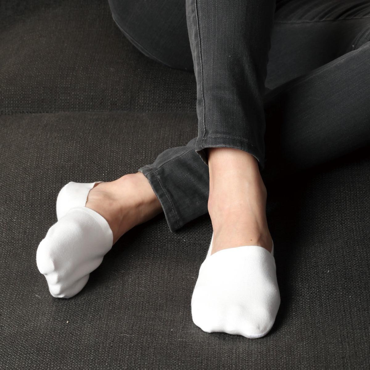 Anti Slip No Show Socks 5-Pack