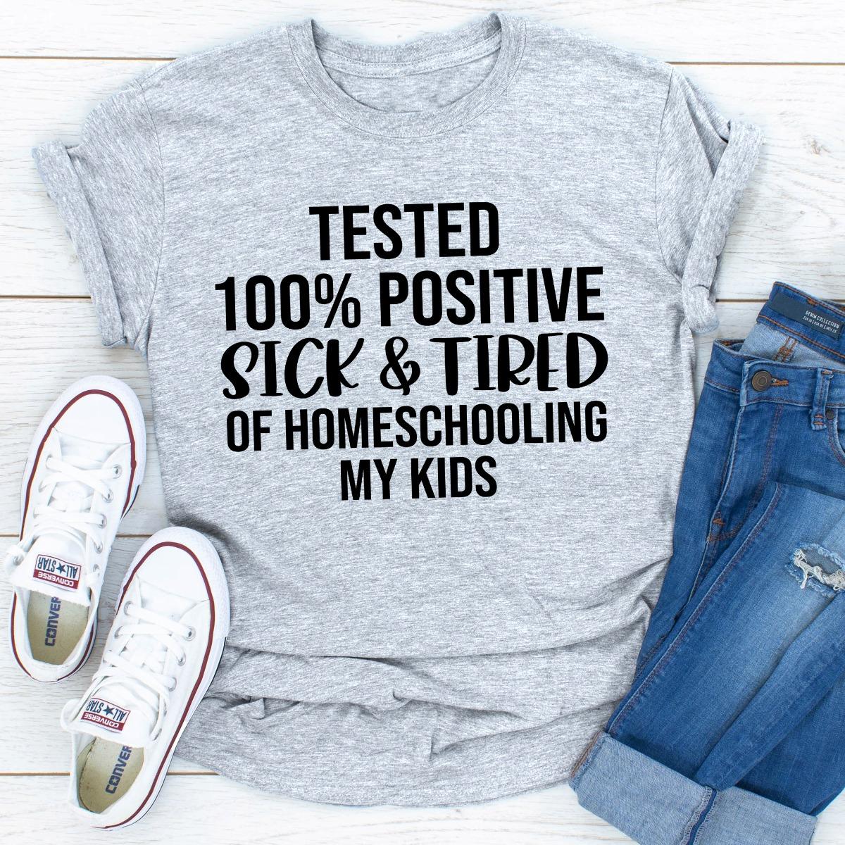 Tested 100% Positive Sick & Tired Of Homeschooling My Kids