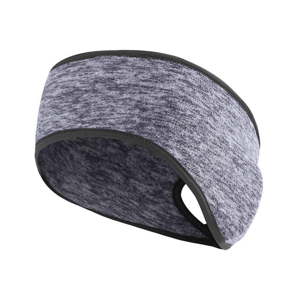 Sports Ponytail Headband-Gray