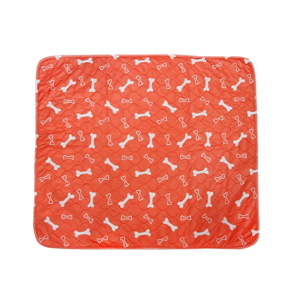 Super Absorption Puppy Pad For Pee & Dirt-Orange-L